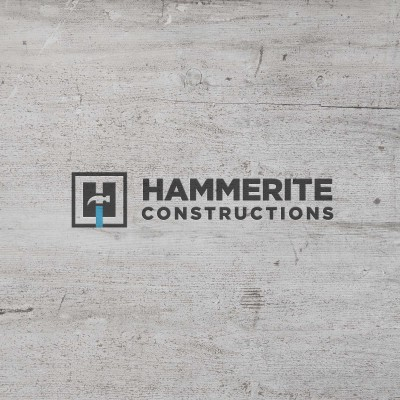 Hammerite Construction | Logo design brisbane | by Charcoal Design