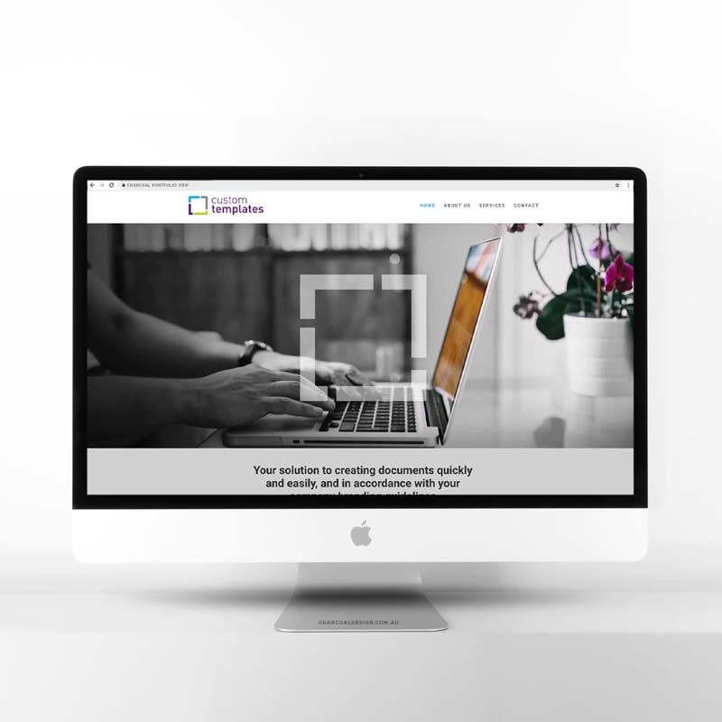 VTG search - Brisbane website design sample, by Charcoal Design