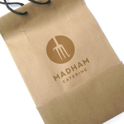 Madham logo - Brisbane logo design sample, by Charcoal Design