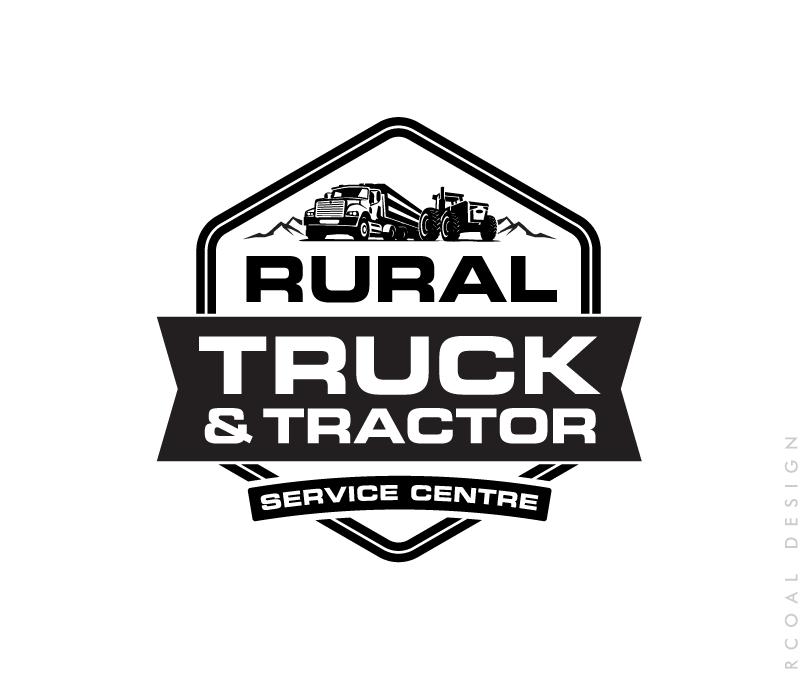 Rural Truck & Tractor Logo Design