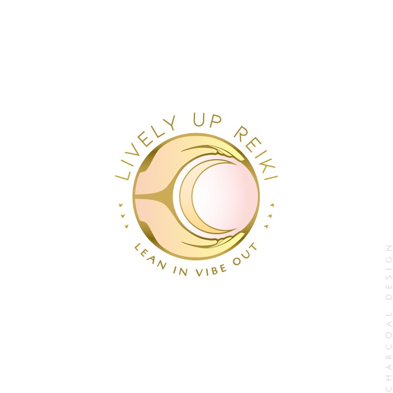 reiki logo - brisbane logo design