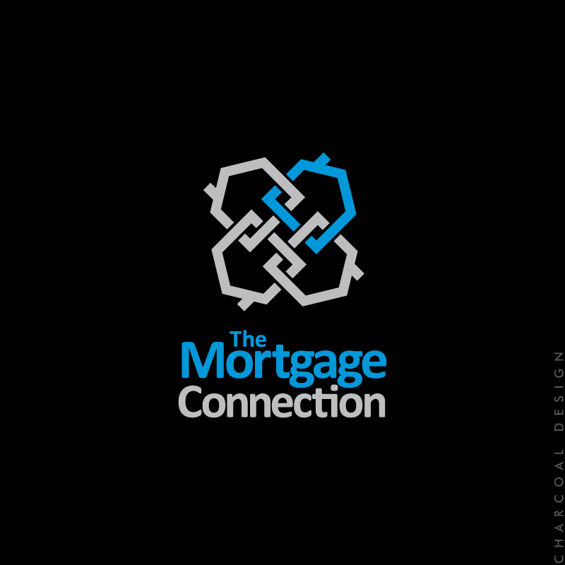 mortgage connection - brisbane logo design